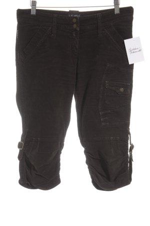 Armani Jeans Cordhose dunkelbraun Casual-Look