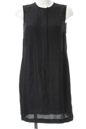 Armani Jeans Vestido ceñido de tubo negro estampado de animales