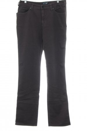 Armani Jeans Five-Pocket-Hose schwarz Casual-Look