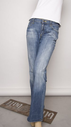Armani Tube Jeans steel blue cotton