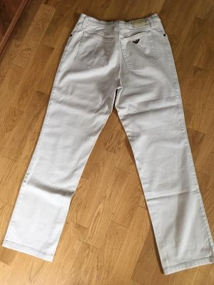 Armani Straight Leg Jeans natural white