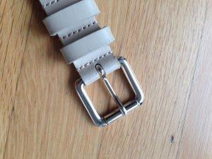 Armani Jeans Cinturón crema-blanco puro