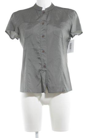Armani Jeans Hemd-Bluse grüngrau Casual-Look