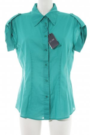 Armani Jeans Blusa-camisa azul cadete look casual