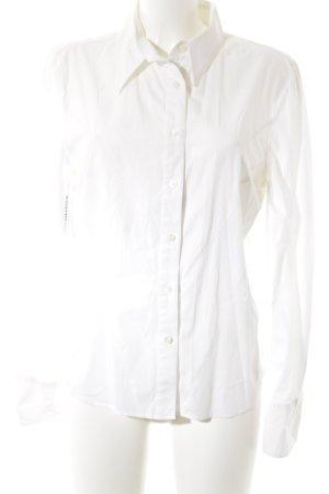 Armani Jeans Hemd-Bluse weiß schlichter Stil