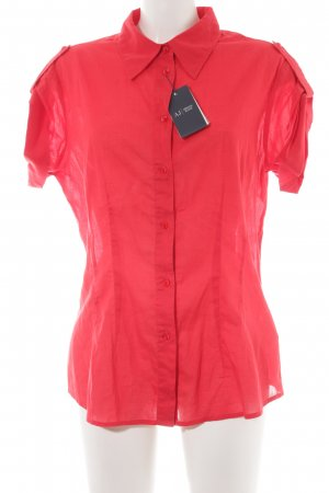 Armani Jeans Hemd-Bluse ziegelrot Casual-Look