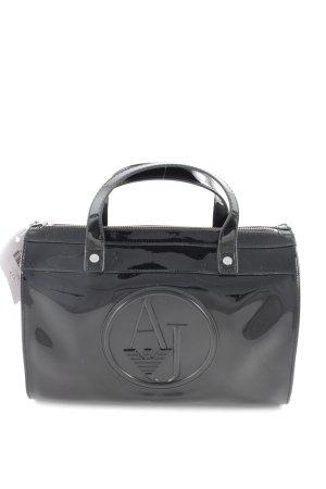 Armani Jeans Draagtas zwart zakelijke stijl