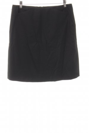 Armani Jeans High Waist Skirt black business style