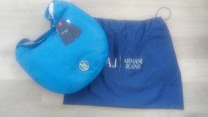 Armani Jeans Bolsa Hobo azul neón Poliuretano