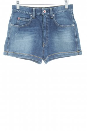 Armani Jeans Hot Pants blue street-fashion look