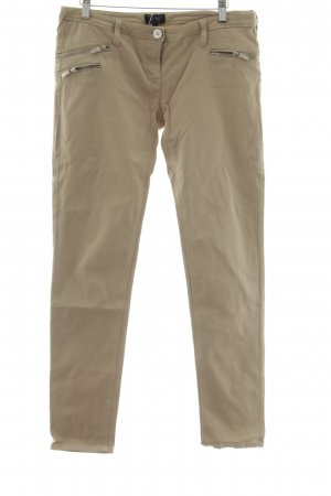 Armani Jeans Hüfthose creme Casual-Look