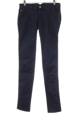 Armani Jeans Hüftjeans dunkelblau Casual-Look