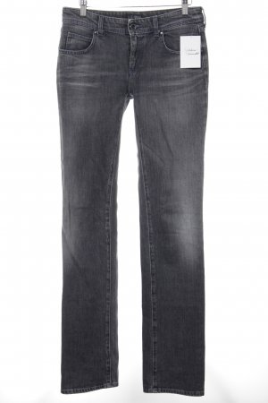 Armani Jeans Low Rise Jeans dark grey jeans look