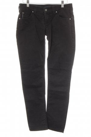 Armani Jeans Hüftjeans schwarz Casual-Look