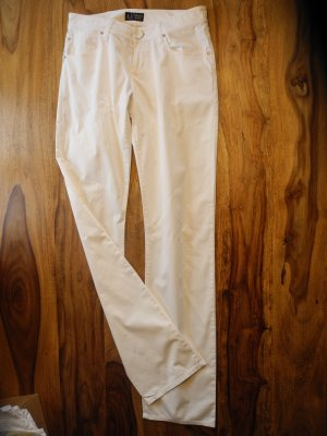 Armani Jersey Pants white cotton