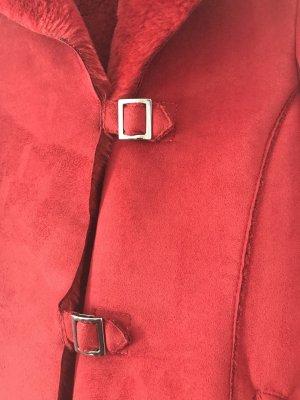 Armani Jeans Short Jacket dark red