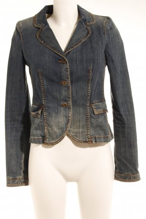 Armani Jeans Denim Blazer blue casual look