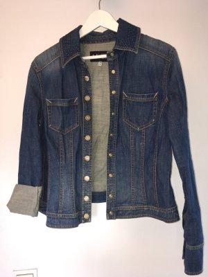 Armani Jeans Jeansjacke in dunkelblau