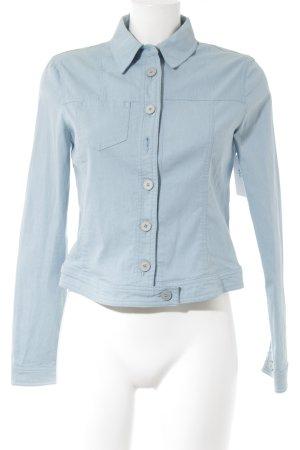 Armani Jeans Jeansjacke kornblumenblau Jeans-Optik