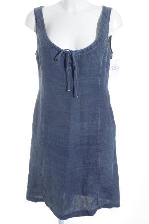 Armani Jeans Vestido vaquero azul look casual