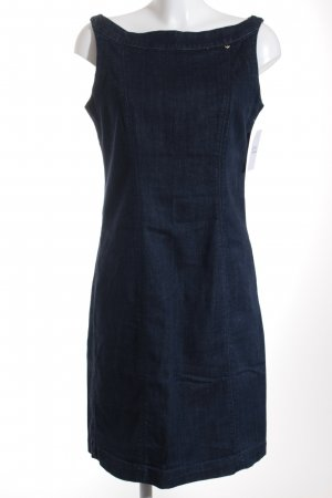 Armani Jeans Jeanskleid dunkelblau Casual-Look