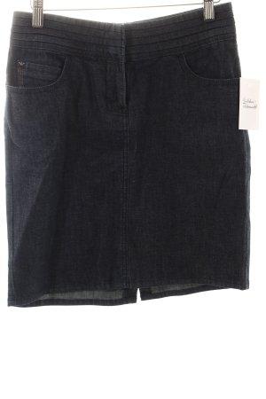 Armani Jeans Jeansrock blau-dunkelblau Casual-Look