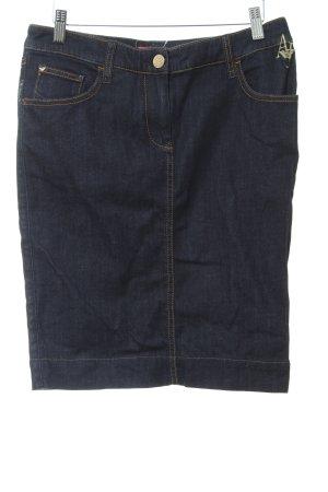 Armani Jeans Falda vaqueras azul oscuro estilo sencillo