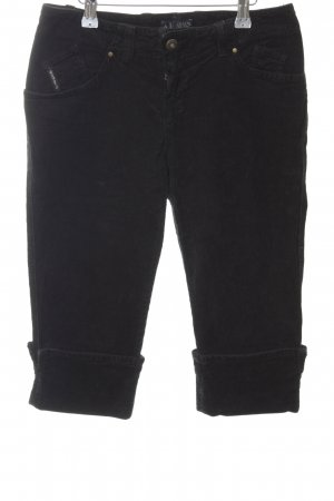 Armani Jeans Jeansshorts schwarz Casual-Look