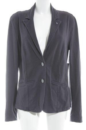 Armani Jeans Jerseyblazer dunkelblau Monogram-Muster Marine-Look