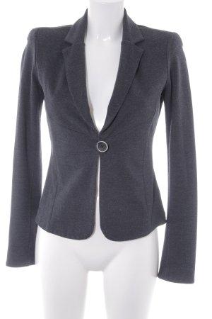 Armani Jeans Jerseyblazer schwarz-grau Business-Look