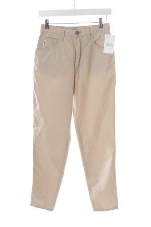 Armani Jeans Karottenhose creme Nude-Look
