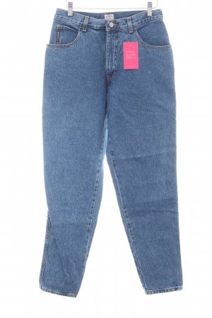Armani Jeans Wortel jeans blauw casual uitstraling