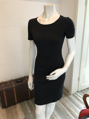 Armani Jeans Kleid mit Rundhalsausschnitt - Schwarz