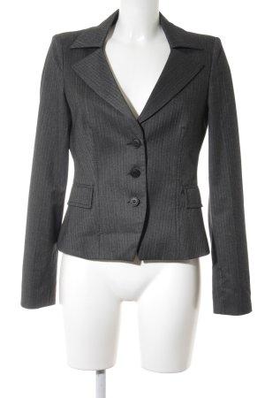 Armani Jeans Blazer corto grigio-grigio scuro gessato stile professionale