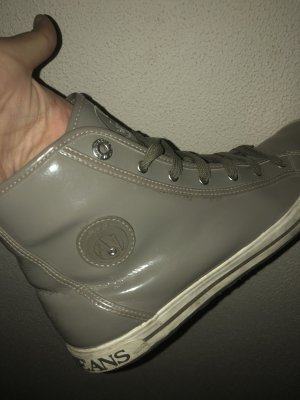 Armani Zapatilla brogue gris