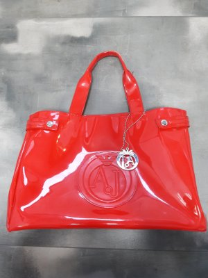 Armani Jeans Carry Bag red