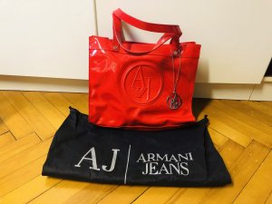 Armani Jeans Sac Baril rouge