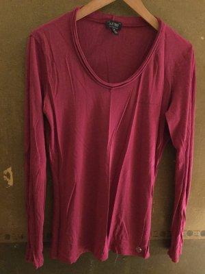 Armani Jeans langärmeliges T-Shirt Gr. 42