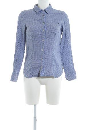 Armani Jeans Camisa de manga larga estampado impreso del revés look casual