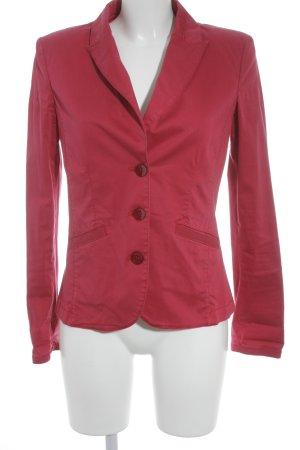 Armani Jeans Blazer long rouge framboise élégant