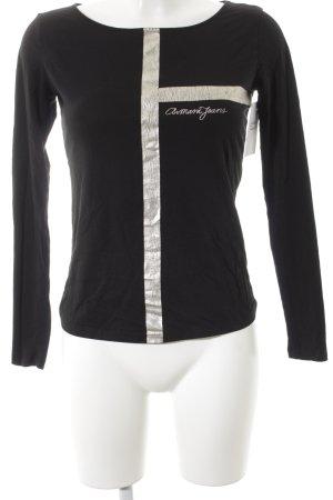 Armani Jeans Longsleeve black casual look