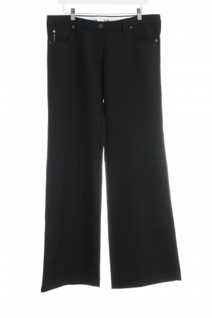 Armani Jeans Marlene Trousers black simple style
