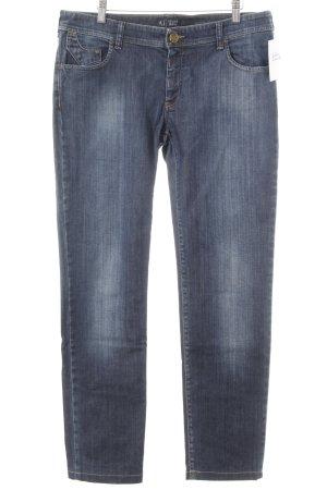 Armani Jeans Jeans marlene grigio ardesia stile casual