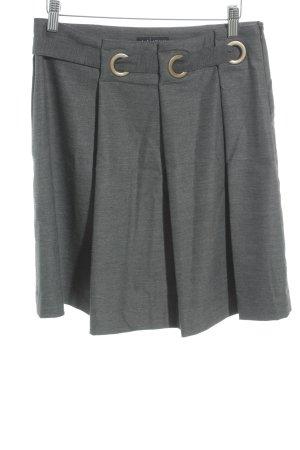 Armani Jeans Midirock grau Casual-Look