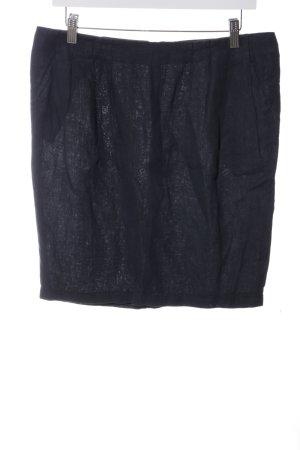 Armani Jeans Minirock schwarz Casual-Look