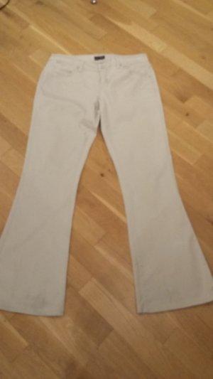 Armani Jeans Boot Cut spijkerbroek room-licht beige