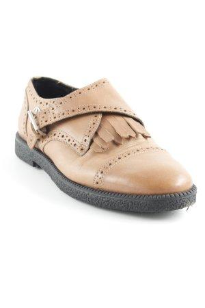 Armani Jeans Monk brun style d'affaires