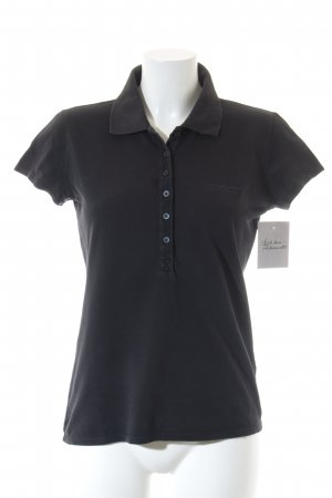 Armani Jeans Polo-Shirt dunkelblau Casual-Look