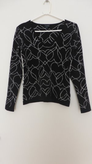 Armani Jeans Sweater black-white new wool