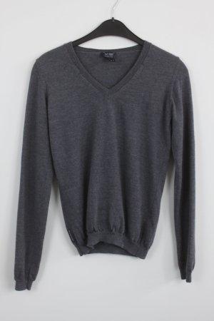 Armani Jeans Maglione lavorato a maglia grigio